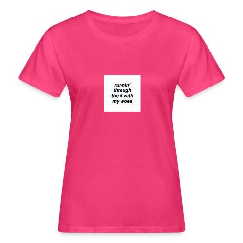 cap woes - Vrouwen Bio-T-shirt