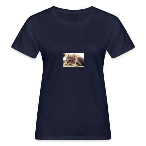 gato tierno - Camiseta ecológica mujer