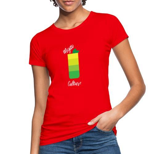 Cocktail Mojito estate 2020 seltz+menta+rum - T-shirt ecologica da donna