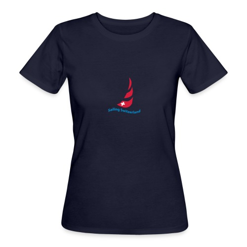 logo sailing switzerland - Frauen Bio-T-Shirt