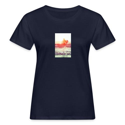 sunset surf jpg - Women's Organic T-Shirt