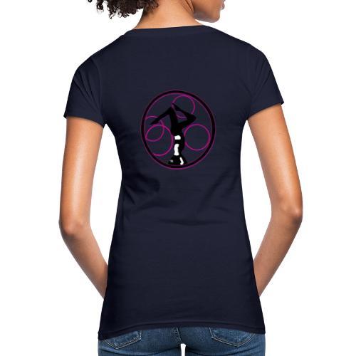 yoga circle Geschenks Idee für Sport begeisterte - Frauen Bio-T-Shirt