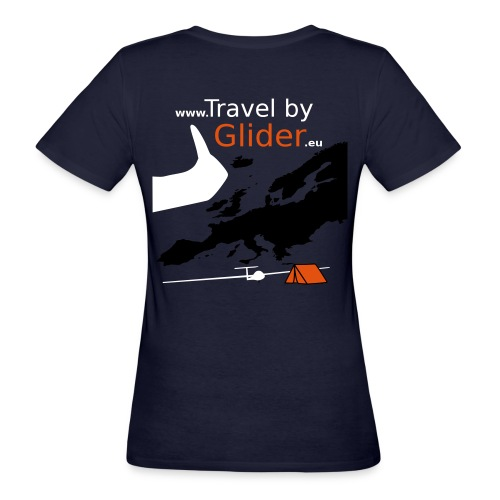 TravelByGlider_Shirt_Logo - Frauen Bio-T-Shirt