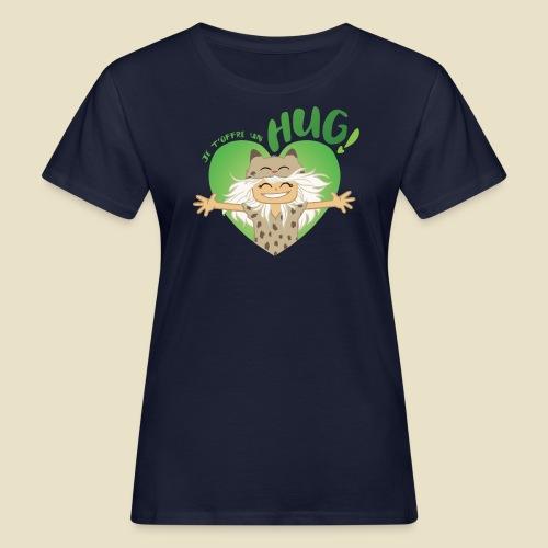 Janou t'offre un hug! - T-shirt bio Femme