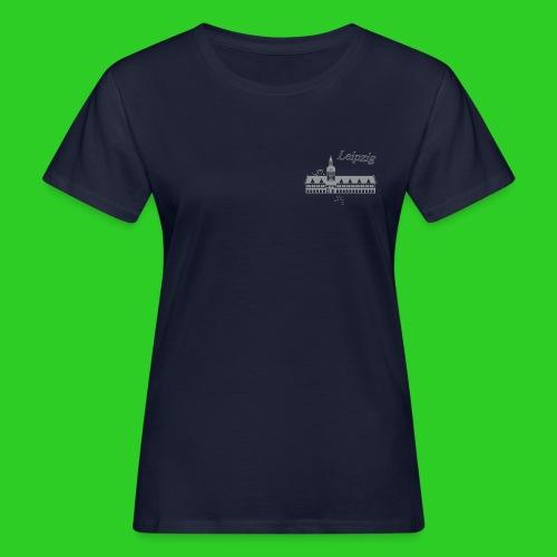 Leipzig altes Rathaus - Frauen Bio-T-Shirt