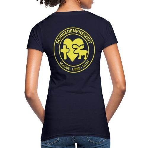 Schwedenfreizeit Logo - Frauen Bio-T-Shirt