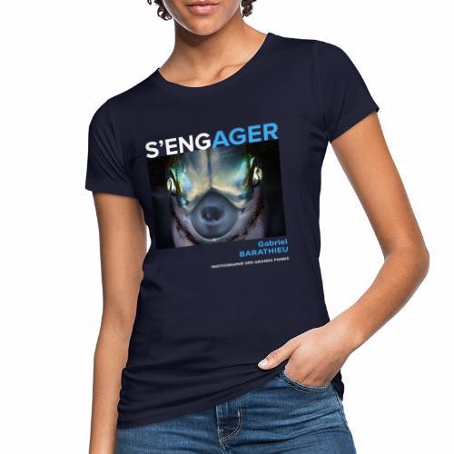 1 Achat = 1 Don à l'association Deep blue explore - T-shirt bio Femme