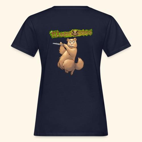 Tshirt Flute dos 2 - T-shirt bio Femme