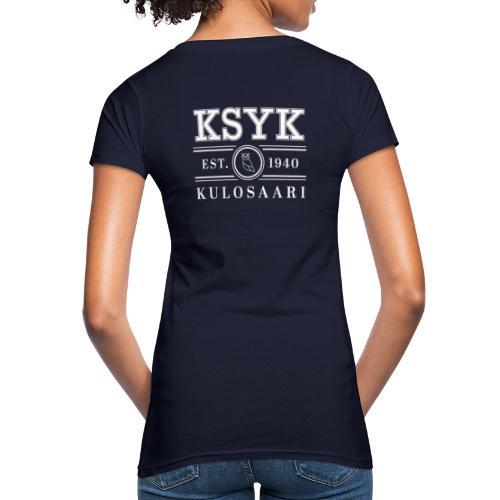 KULOSAARI (WHITE) - Naisten luonnonmukainen t-paita