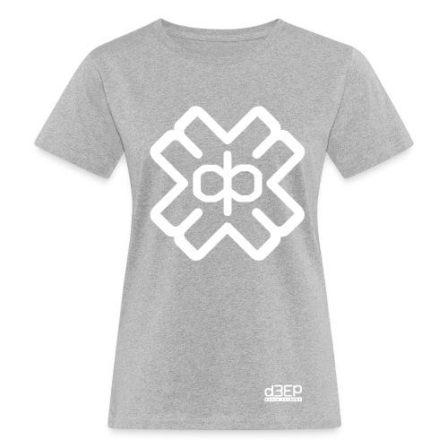 d3eplogowhite - Women's Organic T-Shirt