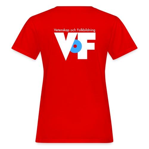 vof text vit png - Ekologisk T-shirt dam