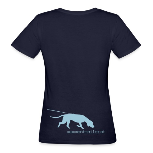 Mantrailer.at Logo V1 ger - Frauen Bio-T-Shirt