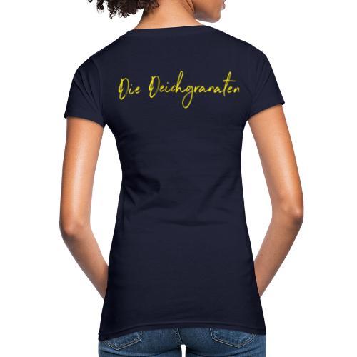 Die Deichgranaten (gelb) - Frauen Bio-T-Shirt