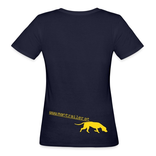 Mantrailer.at Logo V1 - Frauen Bio-T-Shirt