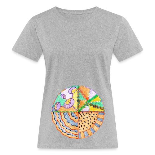 Purifying Creativity GIMP sfondo trasparente gif - T-shirt ecologica da donna