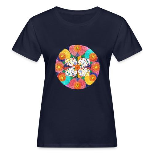 Abundance Mandala gif - T-shirt ecologica da donna