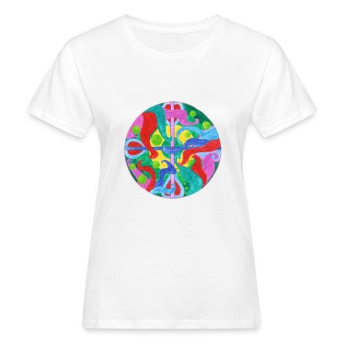Creativity Balance gif - T-shirt ecologica da donna