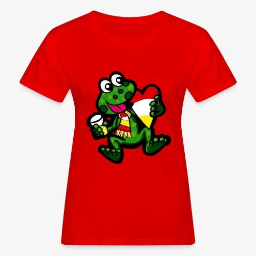Oeteldonk Kikker - Vrouwen Bio-T-shirt