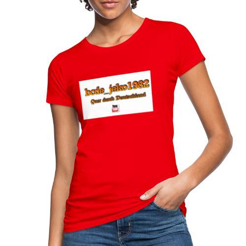 quer durch deutschland - Frauen Bio-T-Shirt