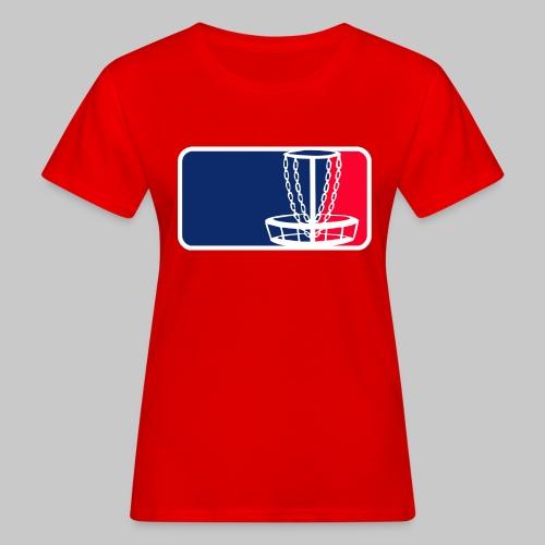 Disc golf - Naisten luonnonmukainen t-paita