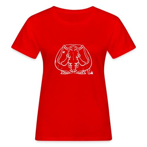Linjefant - Ekologisk T-shirt dam