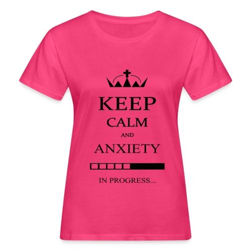 keep_calm - T-shirt ecologica da donna
