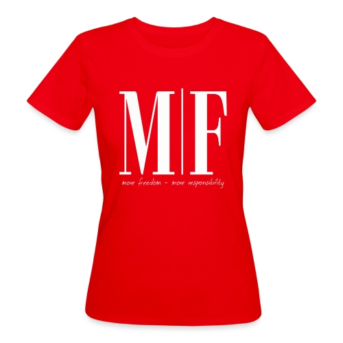 MF more freedom - Frauen Bio-T-Shirt