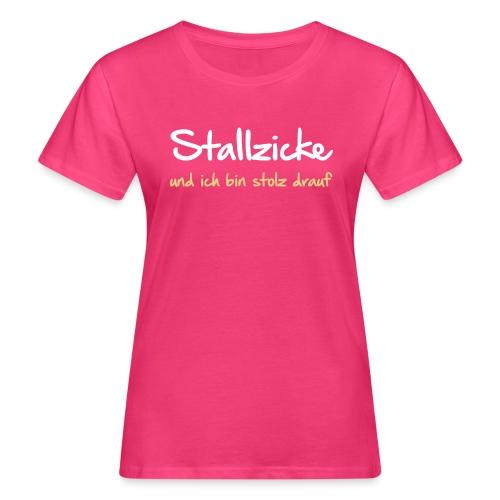 Vorschau: Stallzicke - Frauen Bio-T-Shirt