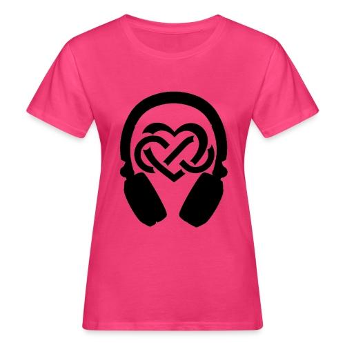 Liefde voor muziek - Vrouwen Bio-T-shirt