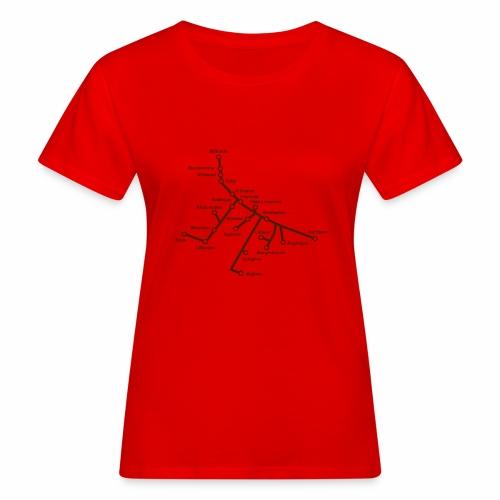 Lisch Tisch Hoods - Ekologisk T-shirt dam