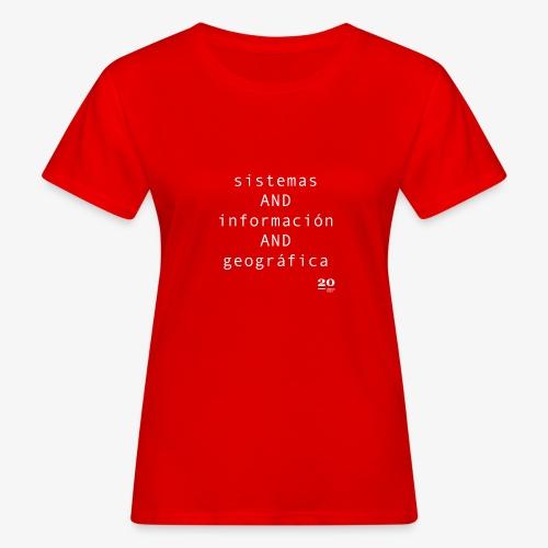 SIG - Camiseta ecológica mujer