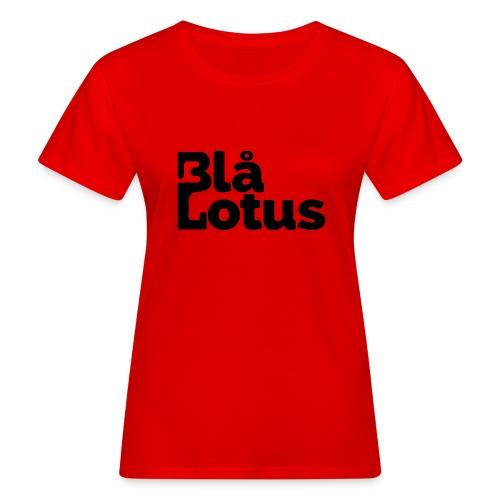 Blå Lotus_logo - Ekologisk T-shirt dam