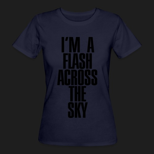 My Name Is THUNDER - T-shirt ecologica da donna