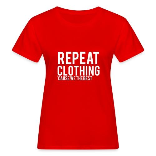 Repeat Clothing - Women's Organic T-Shirt