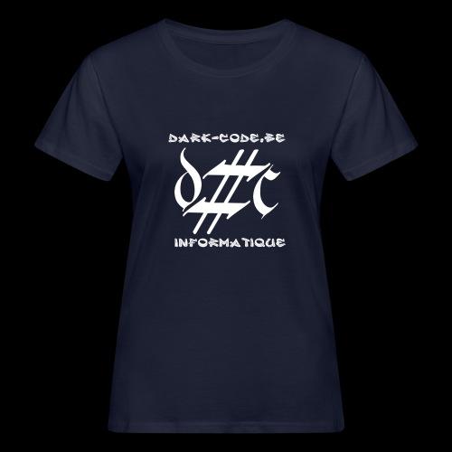 Dark-Code Gothic Logo - T-shirt bio Femme
