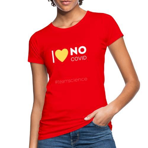 Schrift weiss III - Frauen Bio-T-Shirt
