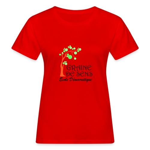 logo GDS - T-shirt bio Femme