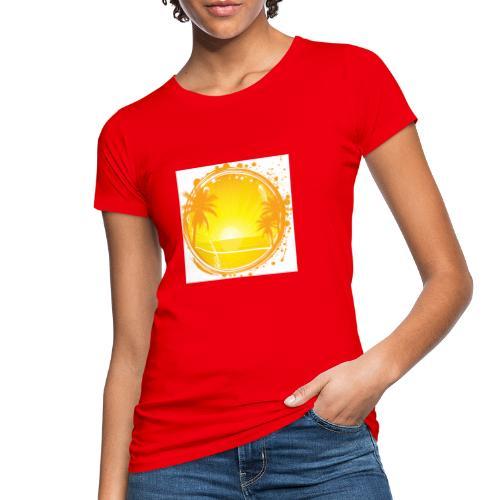 Sunburn - Women's Organic T-Shirt