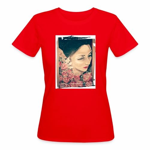 Lady Rose, - T-shirt ecologica da donna