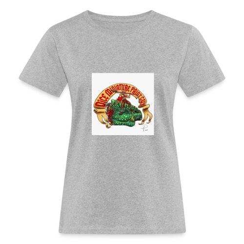 DiceMiniaturePaintGuy - Women's Organic T-Shirt