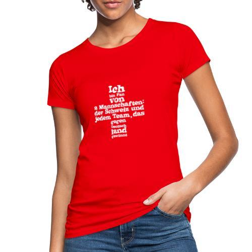 Fan von zwei Mannschaften - Frauen Bio-T-Shirt