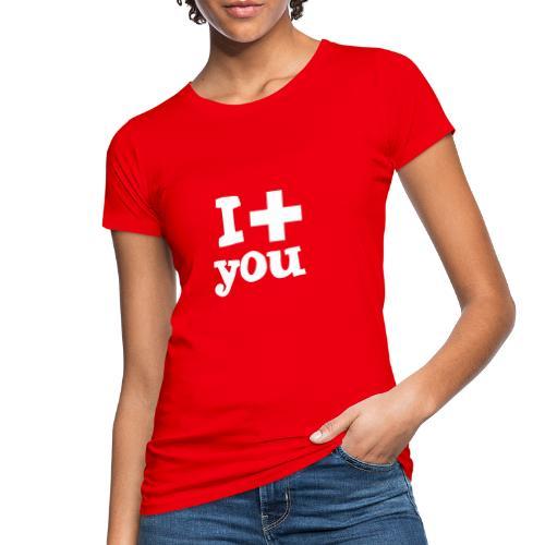 i love you - Frauen Bio-T-Shirt