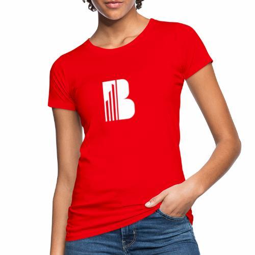 Bricks and the City (white logo) - T-shirt ecologica da donna