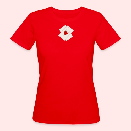 Three of Swords - Women's Organic T-Shirt