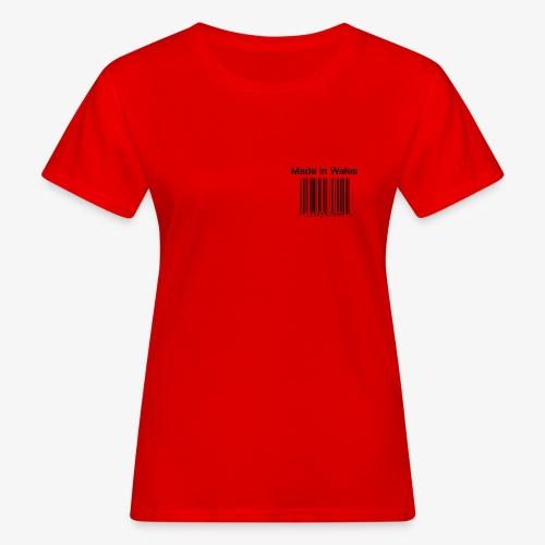 Made in Wales - Women's Organic T-Shirt