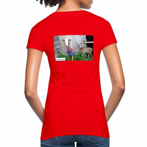 SenSi ♥ Hilfsprojekt für Kühe - Frauen Bio-T-Shirt
