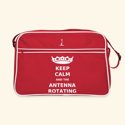 Keep Calm And The Antenna ROTATING - Print - Retroväska