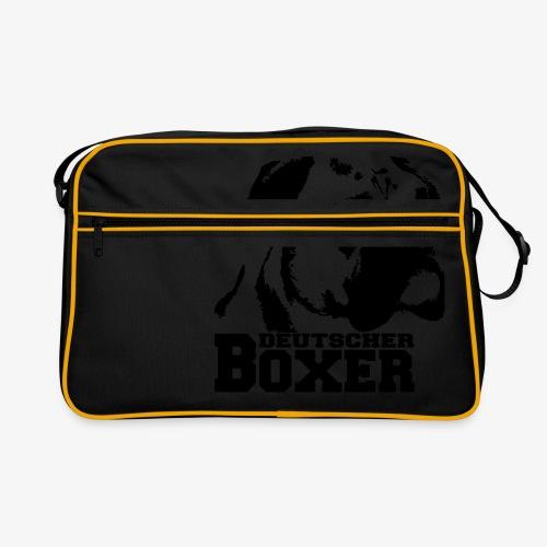 Deutscher Boxer - Retro Tasche