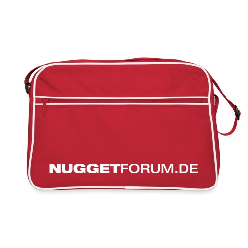 Nuggetforum Logo - Retro Tasche