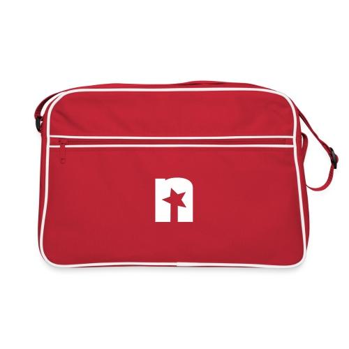 Nerdtalk N-Logo - Retro Tasche